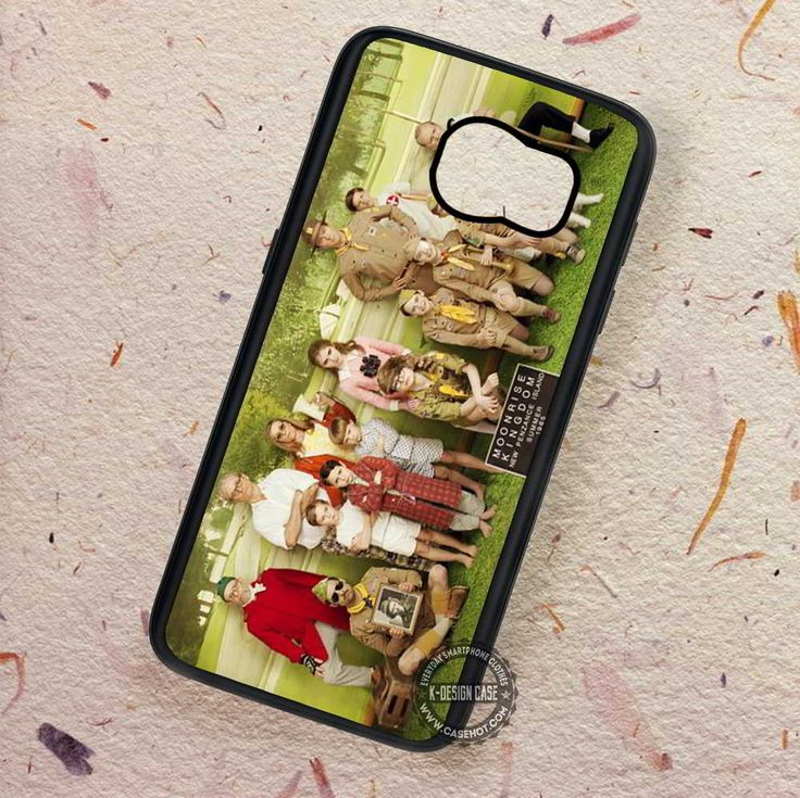 Moonrise Kingdom Cast - Samsung Galaxy S7 S6 S5 Note 7 Cases & Covers