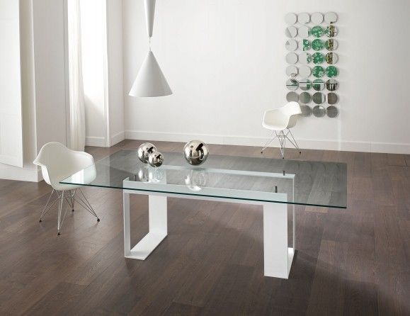 8 Best Dining Room Table Images On Pinterest  Glass Dining Room Custom Italian Glass Dining Room Tables Decorating Inspiration