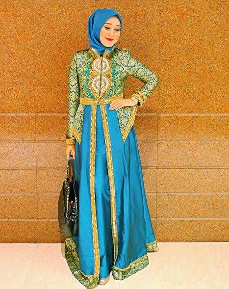 Model Kebaya Gamis Simple