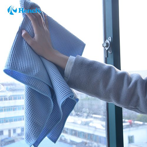 Car Cleaning Waffle style Microfiber Cloth Towel Cleaning Car Windows Bathroom Mirror Shower Glasses Auto 80*60 cm