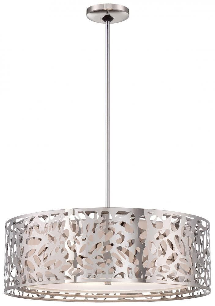 George Kovacs P7986 077 4 Light Pendant As An Amazon Associate We Earn From Qualifying Purchases Light Drum Pendant Drum Pendant Lighting Pendant Chandelier George kovacs pendant light