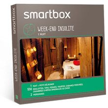 Week-end insolite, meilleur coffret cadeau voyage • Smartbox