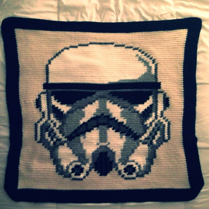 Storm Trooper Crochet Throw Tried Worked Loved Knit