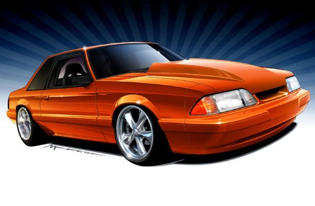 View Street Machine Mustang Lx Notchback Concept Photo