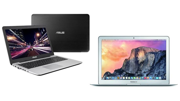 Top 5 Best Laptops Reviews In 2016 Beat Cheap Apple MacBook Air Laptops/Computers for Sale  I put links to each Laptops reviews at Amazon page in the description So you can check out the other reviews at Amazon.  1. Asus F555LA-AB31 15.6-Inch Laptop (2.1 GHz Core i3-5010U Processor4 GB RAM500 GB Hard Drive Windows 10) Black  http://amzn.to/294rG44  2. Dell Inspiron 15.6-Inch HD 1920 x 1080 LED Touchscreen Laptop (ntel Core i5-4210U 8GB 1TB HDD DVD/-RW Drive HDMI Bluetooth Win 10) Silver…