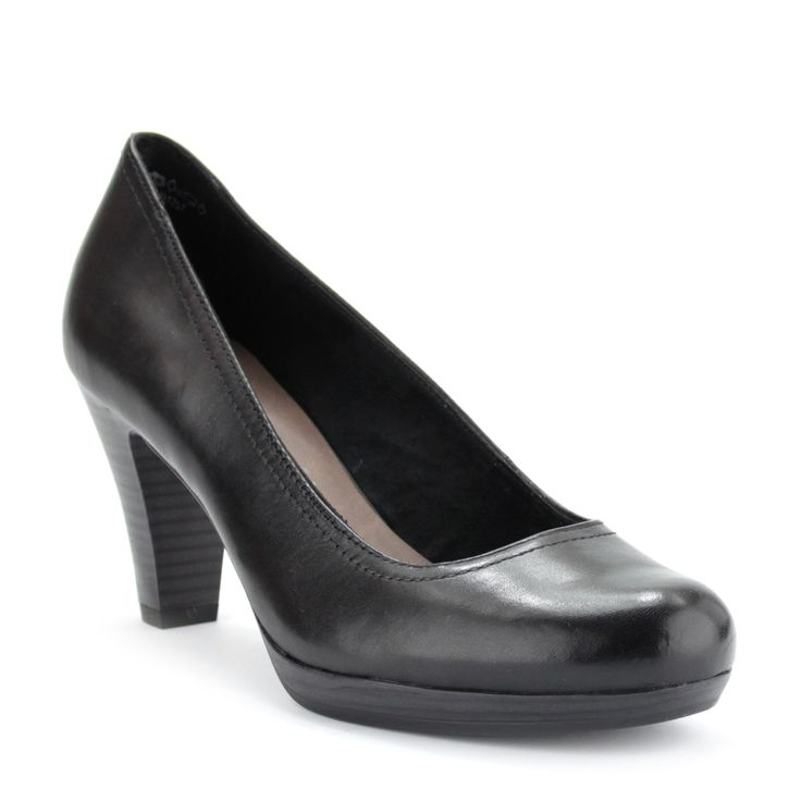 Fekete platformos tamaris cipő   ChiX.hu cipő webáruház - http://chix.hu
