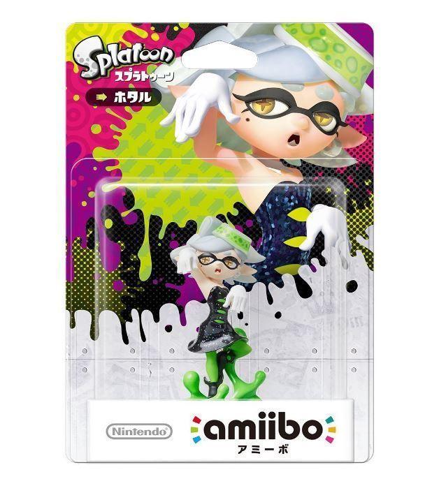 Amiibo Squid Sisters Marie Hotaru Splatoon Japan Nintendo 3DS Wii U F/SCallie #Nintendo