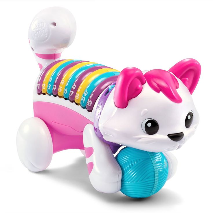 LeapFrog+Count+and+Crawl+Number+Kitty+-+Online+Exclusive+Pink+$12.49+{reg.+$19.99}