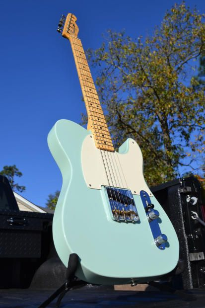 Fender Custom Shop Limited Edition Esquire Surf Green
