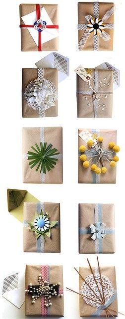 envolver paquetes
