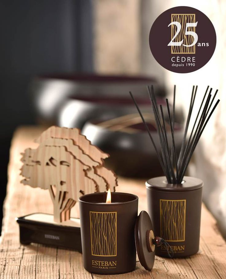 La collection Cèdre d'Estéban fête ses 25 ans - Cèdre is celebrating its 25th anniversary #cedre #esteban #estebanparisparfums #parfuminterieur #homefragrances #cèdre