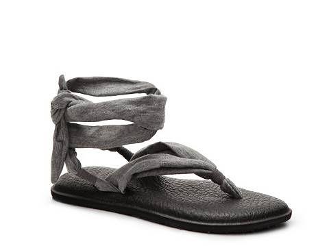 Sanuk Yoga Slinged Up Flat Sandal