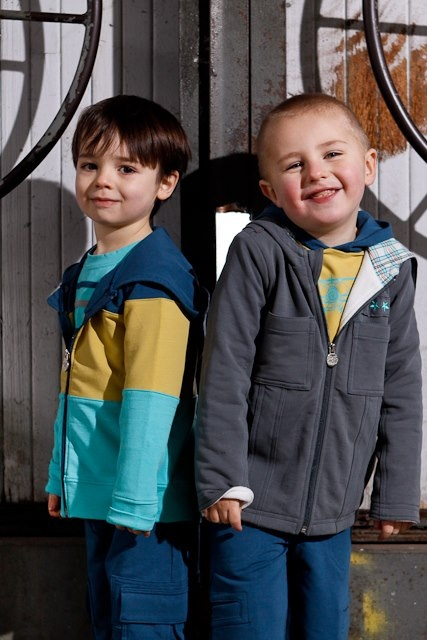 Love the coat on the right, fleece lined and cozy! Perfect for fall & winter! Thank you Peekaboo Beans !