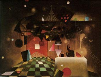 Parafaragamus, 1949 Óleo sobre tela  89 x 116 cm