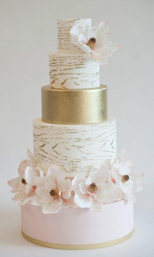 17 Best ideas about Cupcake Wedding Cakes on Pinterest Wedding