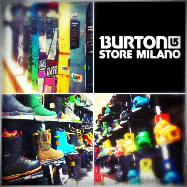 COLLAGE BURTON STORE