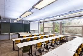 klaslokaal, licht