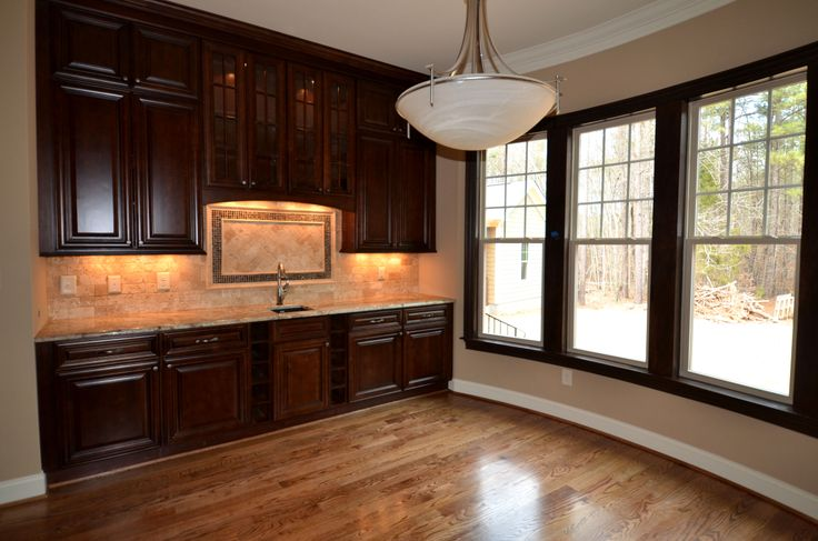 Pantry Bristol Chocolate Kitchen cabinets @Lily Ann Cabinets com