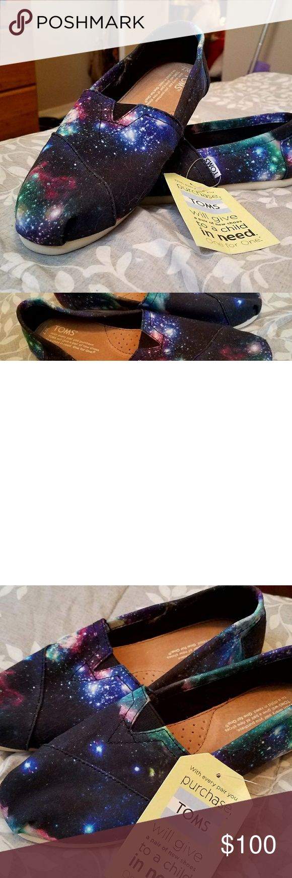 Original Multi Cosmetic TOMS - Galaxy TOMS Original Galaxy TOMS / no longer sold on TOMS website! Toms Shoes Flats & Loafers