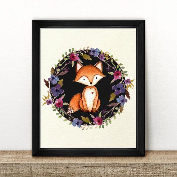 https://www.etsy.com/au/listing/478217082/fox-in-floral-wreath-print-black-instant