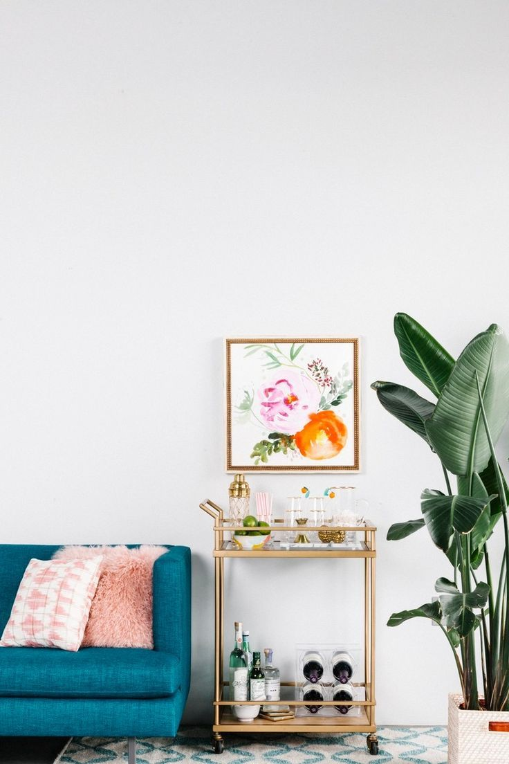 Save this for 6 designer-approved decor tips to give your home a spring refresh, like reconsidering where you entertain.