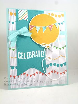 Did You Stamp Today?: Celebrate - Stampin' Up! Celebrate Today - SU