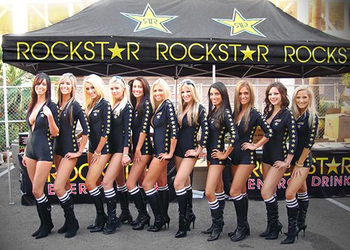 Rockstar Энергии Девушки