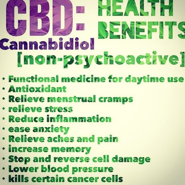 """Contrary to what some people believe the majority of marijuana strains used for medical treatments has little THC. CBD oil, however really does help with my neck spasms, not so much with my lower back. It works much better than opiates, which didn't control the pain, but made me groggy and eventually addicted. It's also impossible to """"overdose"""" on marijuana."""