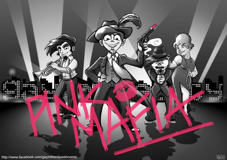 #pinkmafia #lobbygay #velvetmafia #gaymafia  my webcomic: http://www.facebook.com/gayinthecitywebcomic