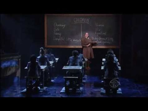 The cast of Matilda (AND RYAN STEELE) perform Revolting Children live at David Letterman.