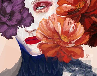 """Check out new work on my @Behance portfolio: """"Dead Flowers"""" http://be.net/gallery/45806367/Dead-Flowers"""