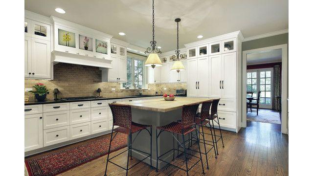 Nexus frost kitchen cabinets kitchens bathrooms for Kitchen cabinets 999
