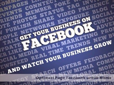 Lima Optimasi Page Facebook untuk Bisnis >> http://goo.gl/sgQ90E