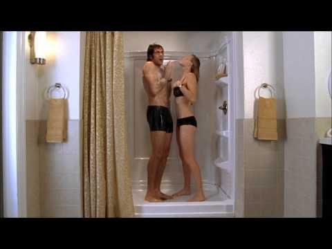Yvonne strahovski chuck shower amp lingerie 1