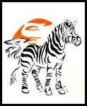 Zebra Tattoo by ~A-shanti on deviantART