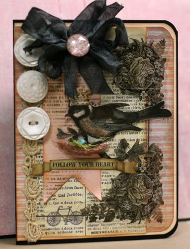 .: Scrapbooking Cards Paper, Card Candy Take, Black Room, Bird Cards, Creative Cards, Handmade Cards, Card Making, Card Inspiration