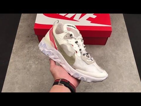 Restocked! Nike React Element 87 Sail Light Bone Available on ...