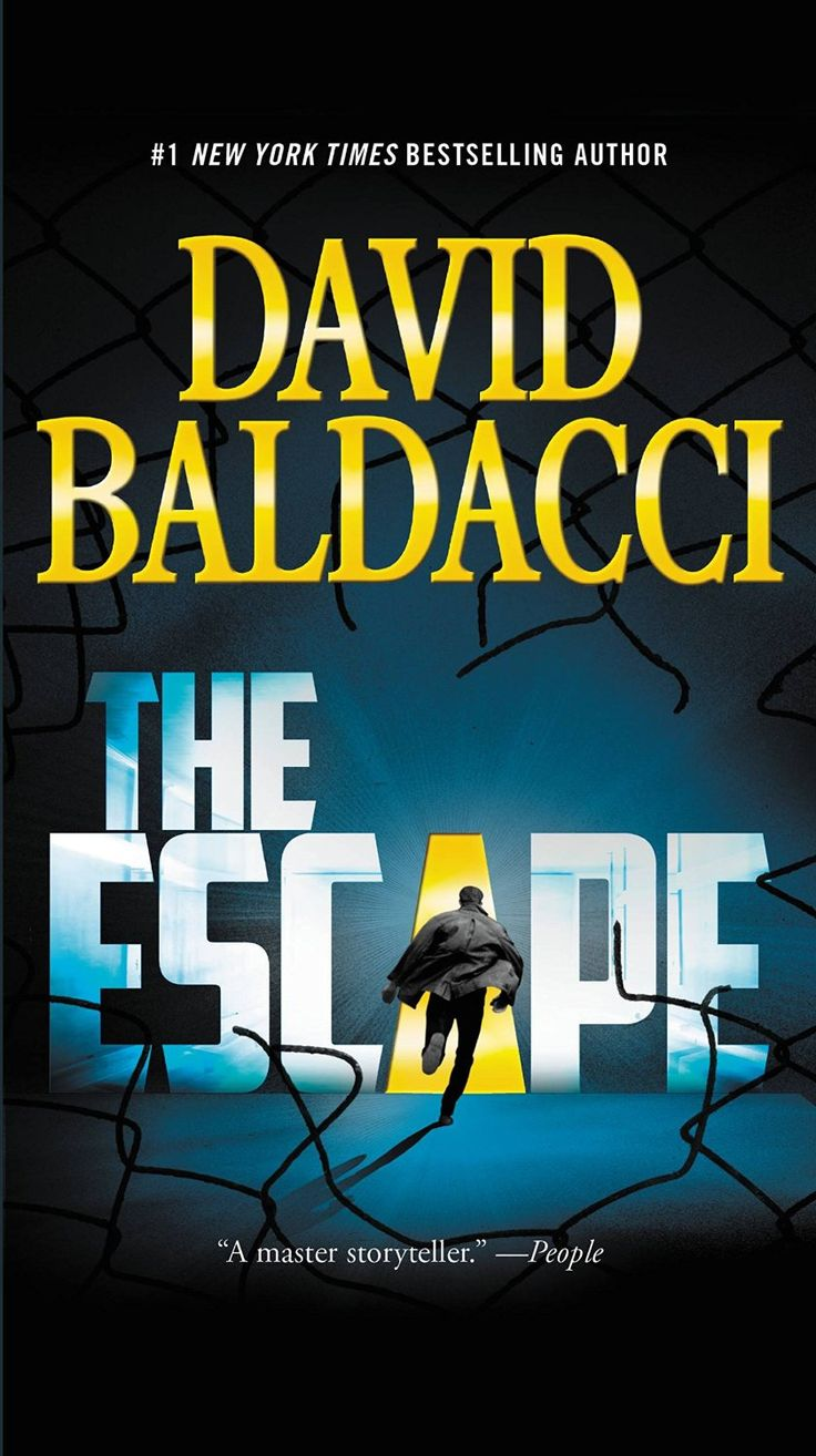 The Escape (john Puller Book 3)  Kindle Edition By David Baldacci Mystery