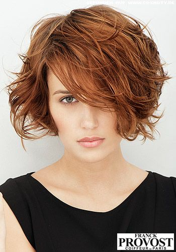 Growing out gour short, medium, or long length bob or pixie to a chin lrngth bob with bangs. Sexy lookss for naturally curly or natural and wavy hair.