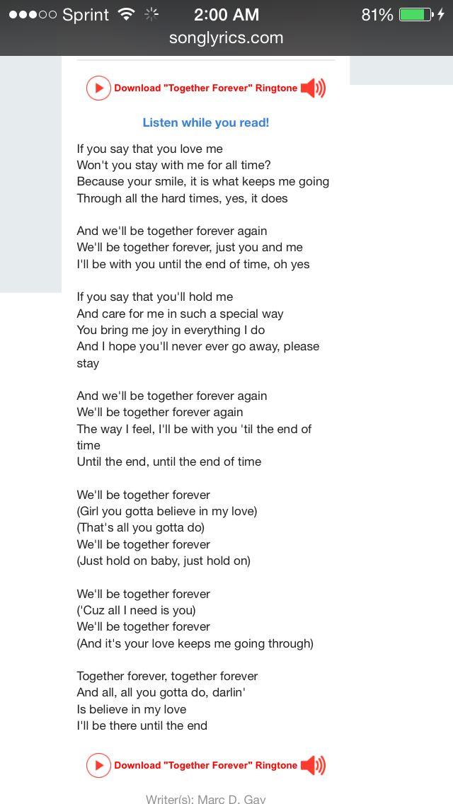 Lyric i believe in you lyrics : 21 best Lyrics images on Pinterest | Lyrics, Music lyrics and Song ...
