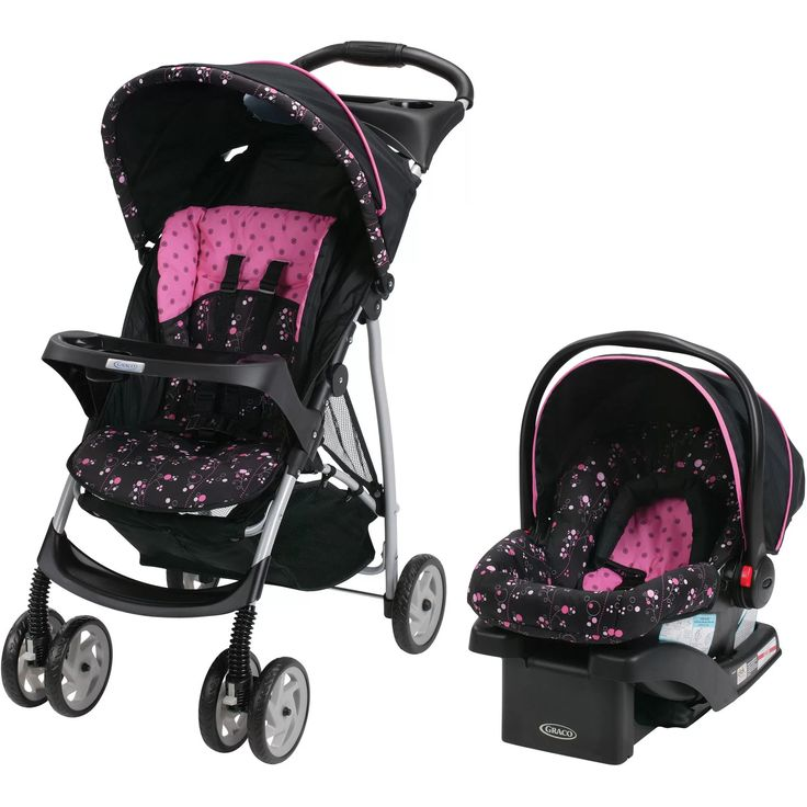 Graco LiteRider Click Connect Travel System, with SnugRide