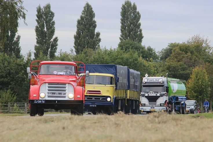 A bit of nostalgia. What do you like better, the DAF's from the 60's or the Scania V8 from the 80's?