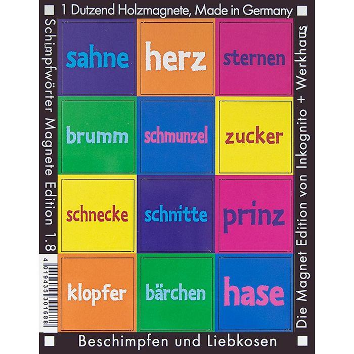 Kosenamen-Magnete für Sternenschnecke und Bärchenprinz