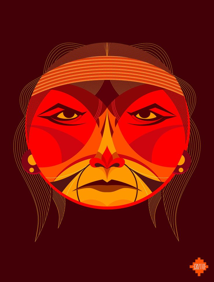 <p>Pachamama is a project by Chilean Art Director Cristobal Ramirez. These gorgeous illustrations are his own interpretation of (for the most part) Latin America chief & warrior ancestors. Be sur