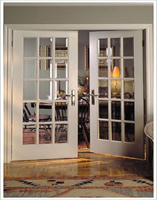 Interior French Doors with Glass, Interior Door Sizes : Interior ...
