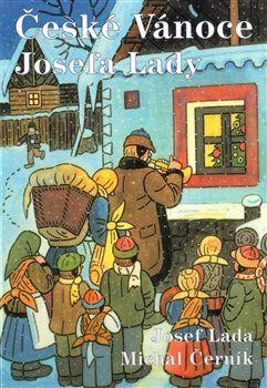 Obálka titulu České Vánoce Josefa Lady