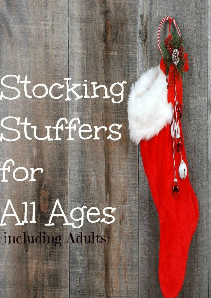 Stocking Stuffers for All Ages {Including Adults}