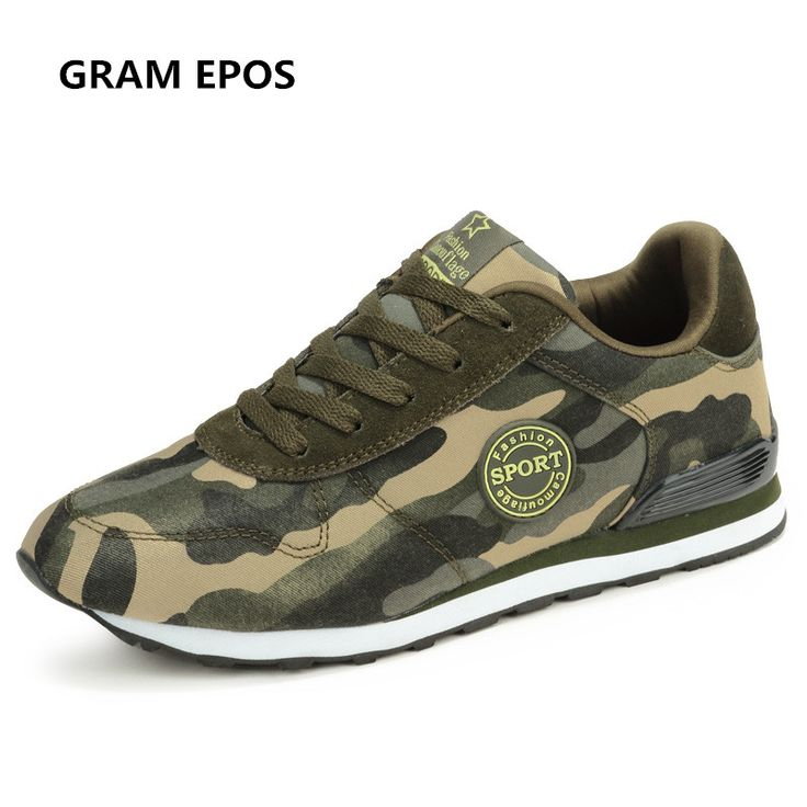 GRAM EPOS Unisex camouflage military green canvas shoe man Masculino Esportivo Lightweight Trainers Zapatillas Deportivas Hombre. Yesterday's price: US $32.00 (26.18 EUR). Today's price: US $18.56 (15.16 EUR). Discount: 42%.