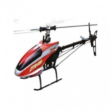 Helikopter DTS450 to model RC z klasy 450 znanej marki E-sky. Wprowadzono w nim innowacyjny nadajnik 6T, w poprzednich modelach dołączany był nadajnik różnicy się wyglądem oraz funkcjami. Opis, dane techniczne, komentarze oraz film Video znajdziesz na naszej stronie, nie ma jeszcze komentarzy, to czemu nie zostawisz swojego:)