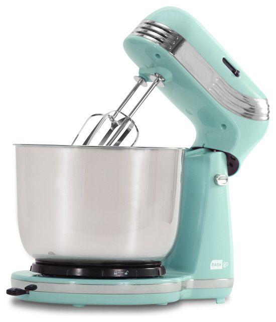 Everyday Baking Mixer, Blue midcentury-mixers